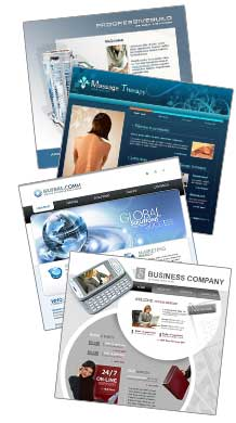Choose from over 7400 professional template designs and let Routine Hosting's develop your Template Based Website today!